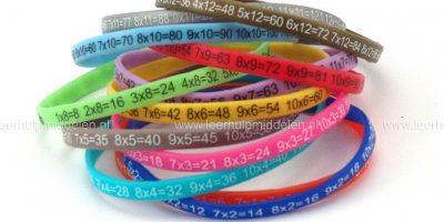 Siliconen armbandjes
