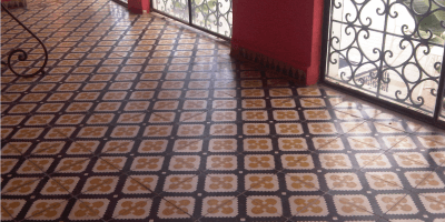 Cementtegel vloer
